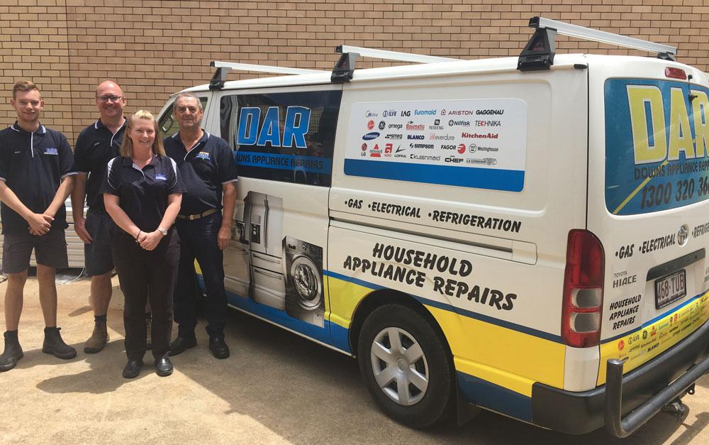 Downs Appliance Repairs Team